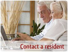 Contact a Resident